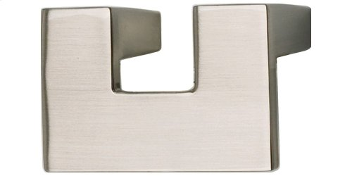 U Turn Knob 1 1/4 Inch (c-c) - Brushed Nickel