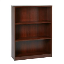 """36wx12dx48h 3-shelf Bookcase With 1"""" Thick Shelves -"""