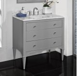 "Charlottesville 36"" Vanity - Light Gray Product Image"