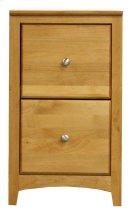 Alder 2 Drawer File Cabinet Product Image