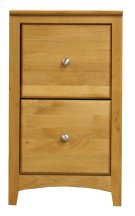 Alder 2 Drawer File Cabinet Product Image
