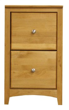 Alder 2 Drawer File Cabinet