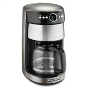 KitchenAid® 14 Cup Glass Carafe Coffee Maker - Cocoa Silver Product Image