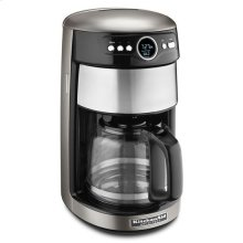 KitchenAid® 14 Cup Glass Carafe Coffee Maker - Cocoa Silver