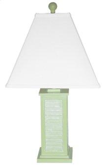 PR150-GR Shutter Table Lamp