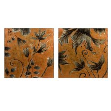 Hansen Hand-painted Oil on Canvas - Set of 2