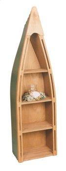 """#102 Canoe Bookshelf 23.5""""wx16.5""""dx83""""h Product Image"""