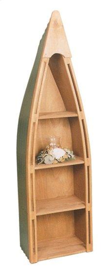 "#102 Canoe Bookshelf 23.5""wx16.5""dx83""h"