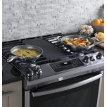 """GE Ge® 30"""" Slide-In Front Control Convection Gas Range"""