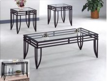 Matrix Metal Sofa Table
