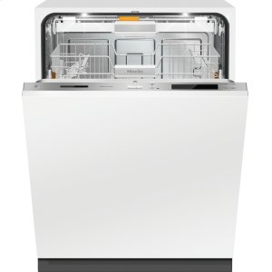 MieleFully-integrated, full-size dishwasher with hidden control panel, 3D+ cutlery tray, Knock2open and custom panel ready