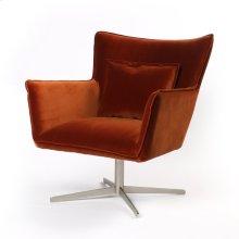 Soft Velvet Sienna Cover Jacob Swivel Chair