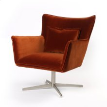 Soft Velvet Sienna Cover Jacob Swivel Chair