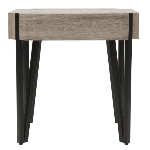 Theo Accent Table in Reclaimed