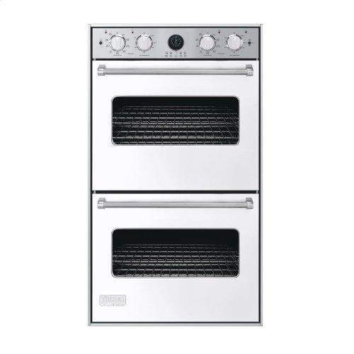 """White 30"""" Double Electric Premiere Oven - VEDO (30"""" Double Electric Premiere Oven)"""