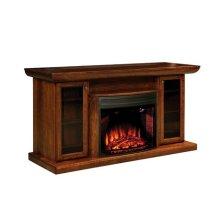 "Ember 70"" Fireplace Media Cabinet"