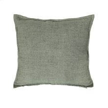 Lemmy Linen Feather Cushion Grey 20x20