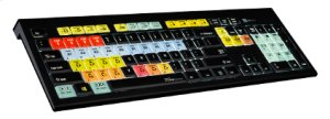 COLOR-CODED ILLUMINATED SHORTCUT KEYBOARD FOR ProHD STUDIO
