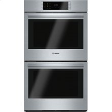 """GREAT OPPORTUNITY FOR QUALITY APPLIANCE! SAVE BIG FOR BRAND NEW - BOSCH Benchmark Series, 30"""", Double Wall Oven, SS, EU conv./EU conv., TFT Touch Controls  / MODEL HBLP651UC / FULL WARRANTY / CUSTOMER COULD NOT MODIFY THEIR OPENING TO FIT THIS MODEL..."""