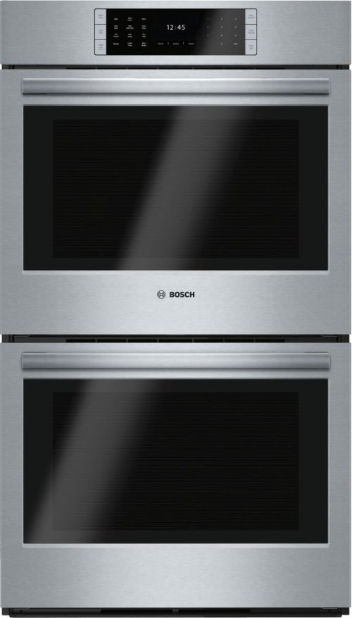 """GREAT PRICE FOR PREMIUM 30"""" DOUBLE WALL OVEN (WRONG SIZE FOR CUSTOMER) - BOSCH Benchmark Series, 30"""", Double Wall Oven, SS, EU conv./EU conv., TFT Touch Control - MODEL HBLP651UC - FULL WARRANTY"""