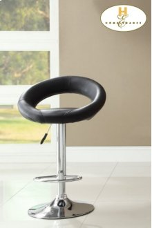 Black Airlift Swivel Stool
