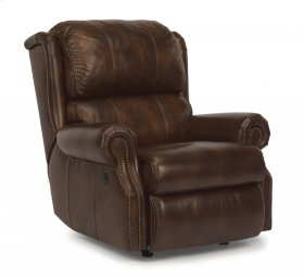 Comfort Zone Leather Power Recliner