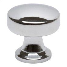 Browning Round Knob 1 1/4 Inch - Polished Chrome
