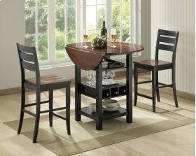 5918/5919  Ridgewood Black / Cherry Counter Table
