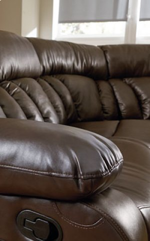 STANDARD 4003211-4003041-4003221 North Shore 3-Pc Reclining Sectional Sofa