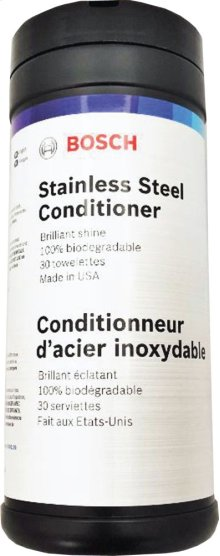 Bosch Stainless Steel Conditioner (Wipes)