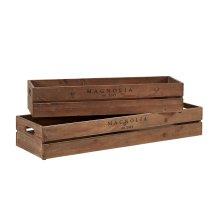 Harvest Crate Troughs - Set of 2