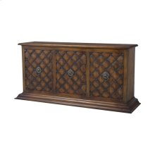 Carved Credenza In New Signature Stain