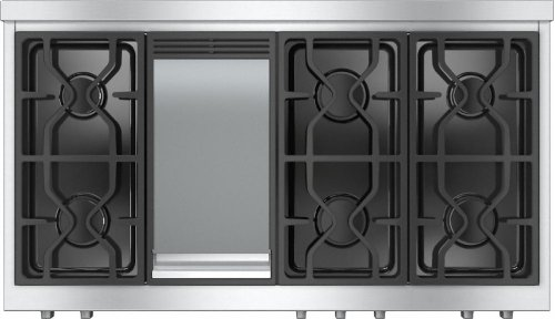 KMR 1356 G RangeTop with 6 burners and griddle for versatility and performance