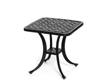 """21"""" Square Tea Table 18""""h (available 21""""h)"""