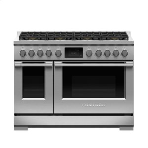 "Fisher & PaykelDual Fuel Range, 48"", 8 Burners, LPG"