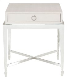 Criteria End Table in Criteria Pale Ivory (363)