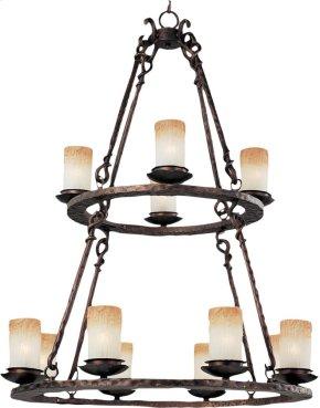 Notre Dame 12-Light Chandelier