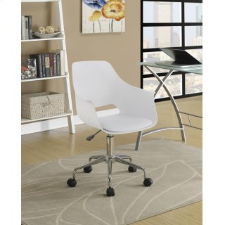 Bucket Office Chair White
