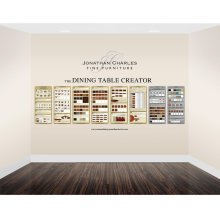 Medium Custom Dining Graphic Display