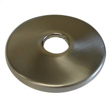 "Brushed Nickel Escutcheon 1/2"" CTS - 5/8"" OD Low Pattern 2-1/2"" OD"