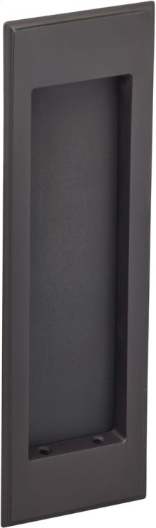 Traditional Rectangular Flush Pull in (US10B Oil-Rubbed Bronze, Lacquered)