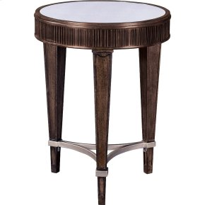Cashmera Round Chairside Table