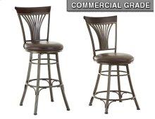 "Karol Swivel Counter Chair, 19""x17""x42"""