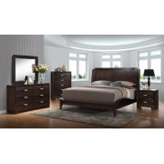 Brandy Dark Bedroom Product Image