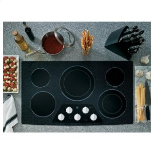 "GE®36"" Built-In Electric Cooktop"