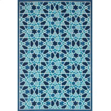 Light Blue / Navy Rug