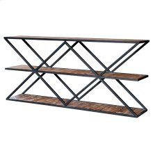Salvatore Console Table, Rustic Gamma