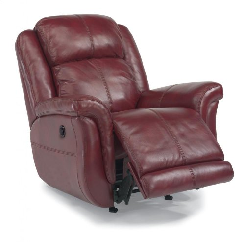 Brookings Leather or Fabric Power Recliner