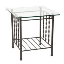 Prescott Iron Side Table