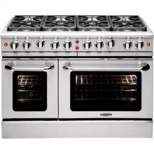 "48"" Gas Convection Range with 8 Sealed Burners 19K BTU"